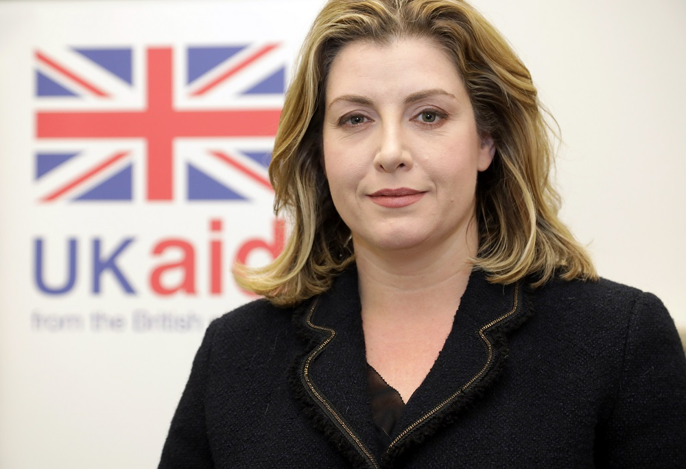 Rt Hon Penny Mordaunt MP, Secretary of State for International Development.jpg